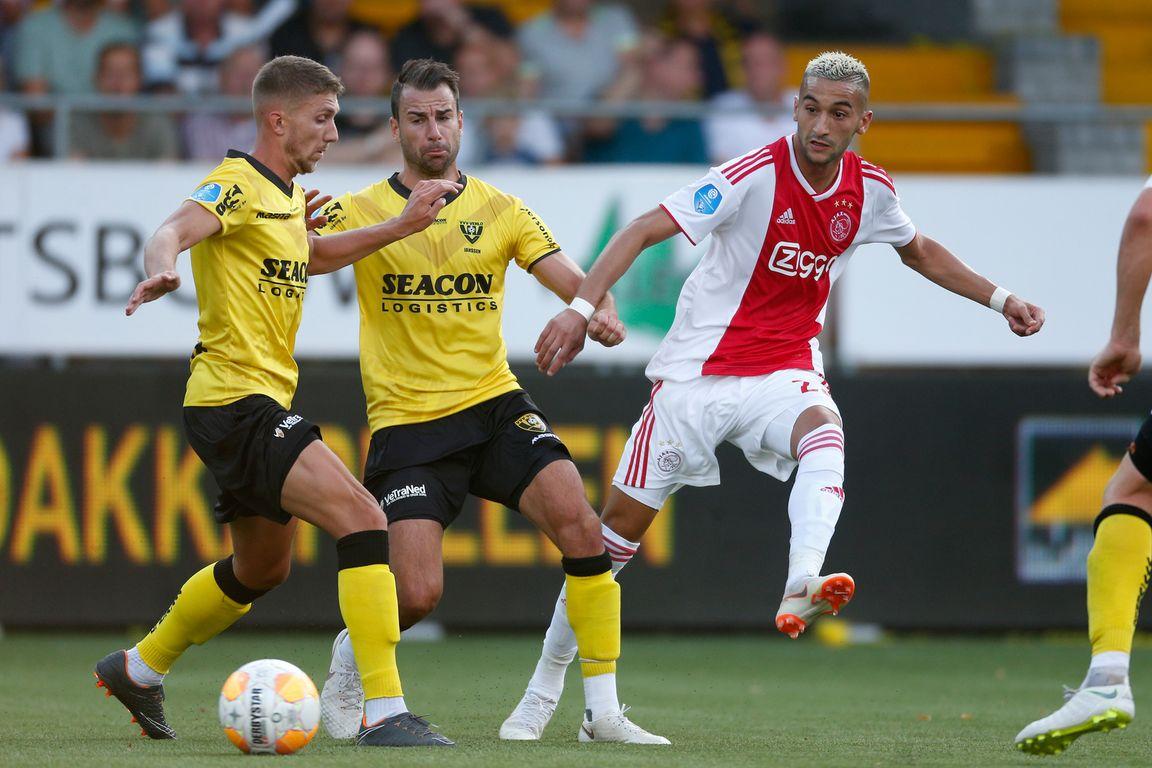 Ajax opnieuw tegen VVV-Venlo na oplopen dreun