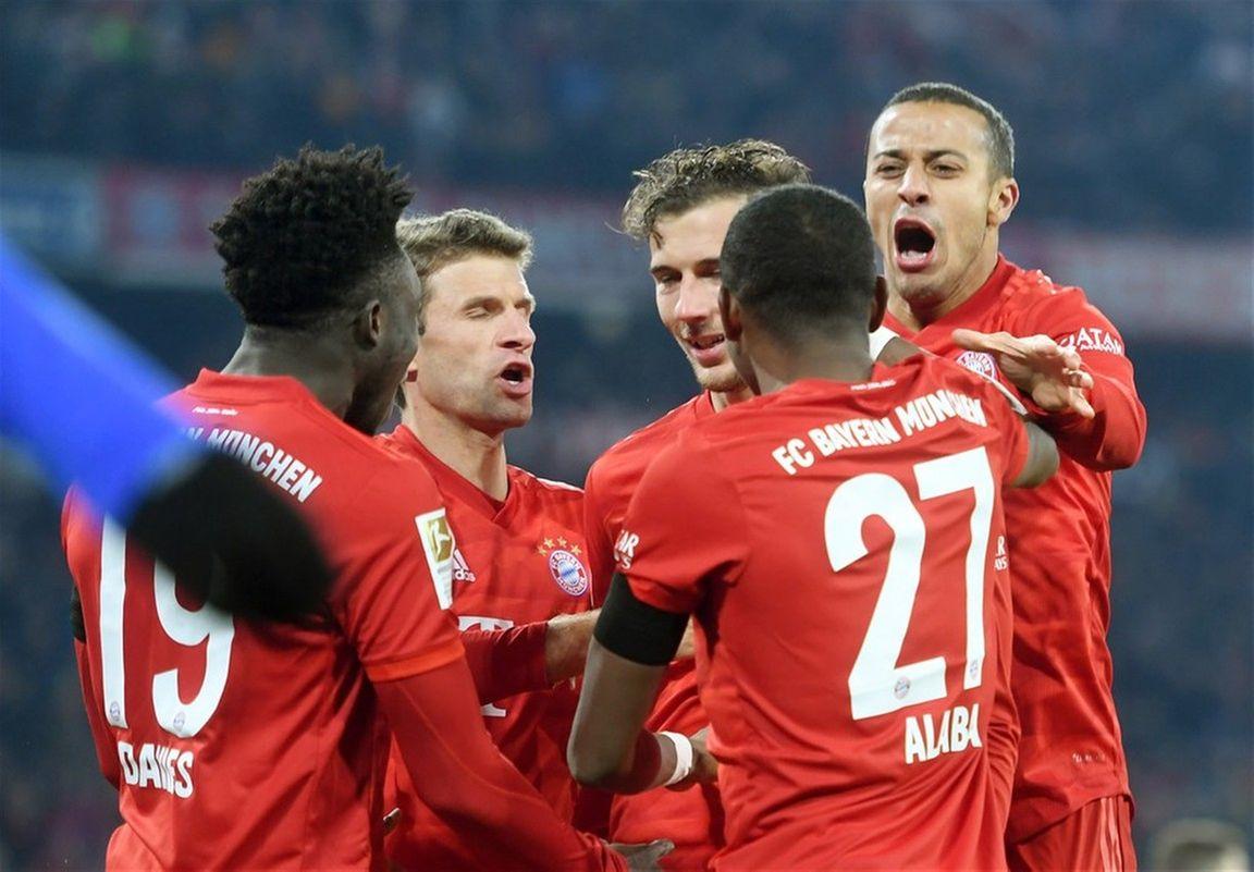 Bayern München kan over een week achtste titel op rij veiligstellen