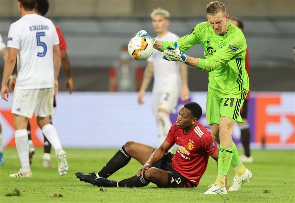 FC Kopenhagen en voormalig NEC-keeper laten Man United flink zweten