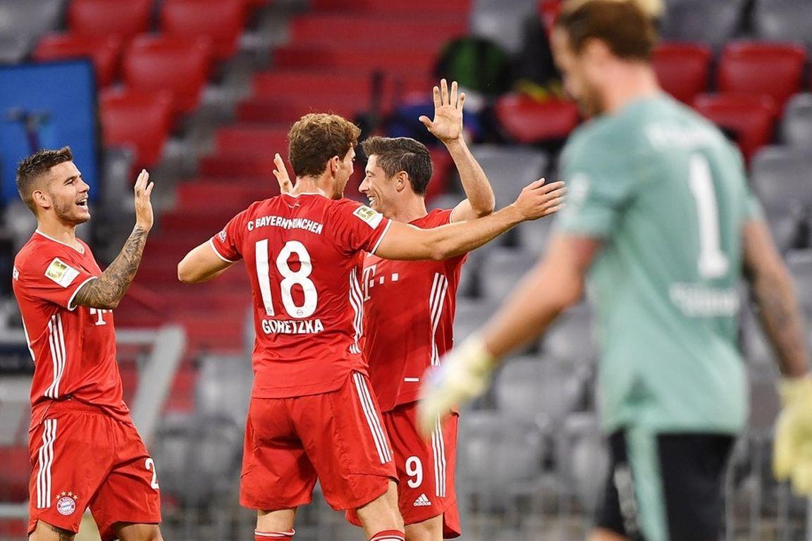 Bayern geeft met monsterscore direct duidelijke boodschap af