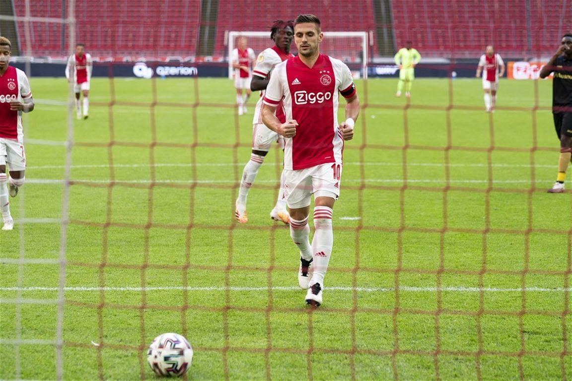 Ajax stoft tegen Liverpool de Tadic-variant af