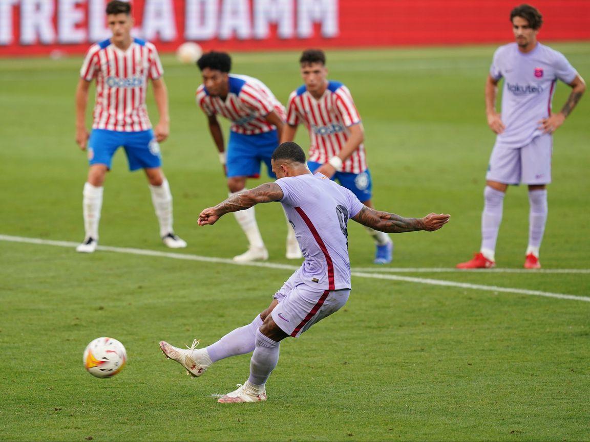 Memphis maakt indruk tijdens Barça-debuut: 'Een ander soort voetballer'