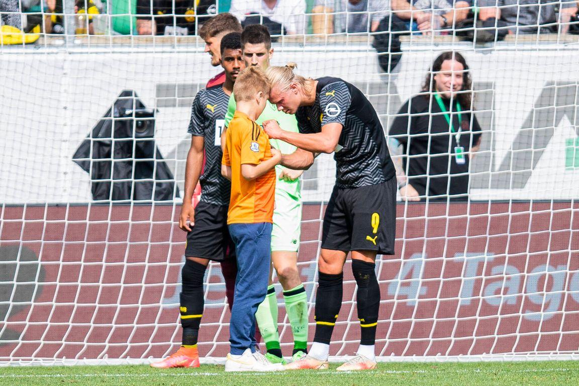 Geweldige goal Ibiza-aanvaller, jonge Haaland-fan beteuterd ondanks buit