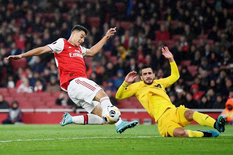 Supertalent betovert Arsenal na afwijzing door Manchester United