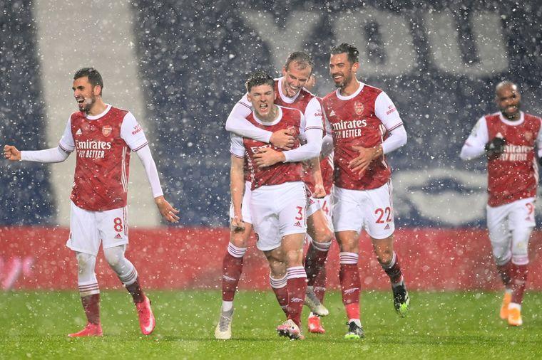Arsenal swingt als vanouds en maakt gehakt van West Brom