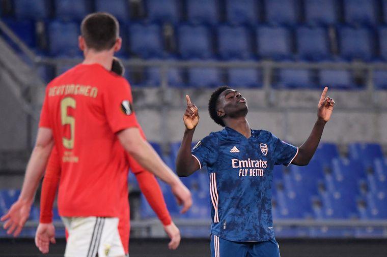 Arsenal dankt pareltje Saka, Napoli laat zich verrassen
